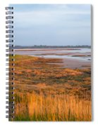 Bay At Shannon Airport Ireland 2 Spiral Notebook
