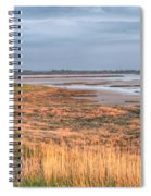 Bay At Shannon Airport Ireland 4 Spiral Notebook