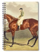 Bay Middleton Winner Of The Derby In 1836 Spiral Notebook