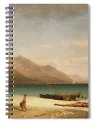 Bay Of Salerno Spiral Notebook