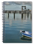 Bay Of Whispers Spiral Notebook