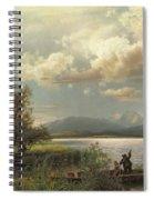 Bayern Landscape Spiral Notebook