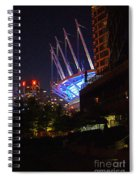 B.c. Place At Night Spiral Notebook