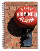 Be Alarmed Spiral Notebook