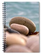 Beach And Stones Spiral Notebook