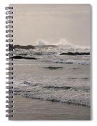 Beach At Tofino  Spiral Notebook