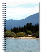 Beach Biking Lake Tahoe Spiral Notebook