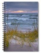 Beach By Holland Michigan No 0192 Spiral Notebook