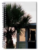 Beach Cottage Clothesline Spiral Notebook