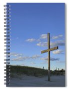 Beach Cross Spiral Notebook