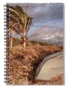 Beach Days Of Yester-year Spiral Notebook