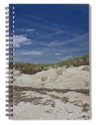Beach Dunes Spiral Notebook