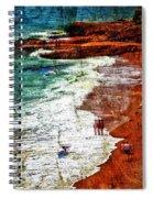 Beach Fantasy Spiral Notebook