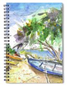 Beach In Ayia Napa Spiral Notebook