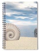 Beach Of Shells Spiral Notebook