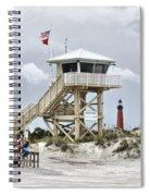 Beach Patrol Spiral Notebook