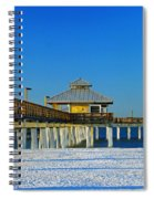 Beach Pier Spiral Notebook
