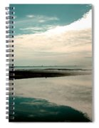 Beach Reflection Spiral Notebook