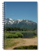 Beach Reflections At Mt Tallac Spiral Notebook