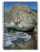 Beach Rock Spiral Notebook