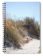 Beach Sand Dunes I Spiral Notebook