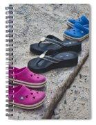 Beach Shoes Spiral Notebook