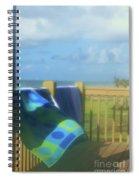 Beach Towels Spiral Notebook