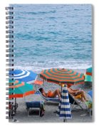Beach Umbrellas 2 Spiral Notebook