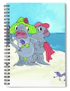 Beached Ladies Spiral Notebook
