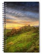 Beacon Hill Sunrise 9.0 Spiral Notebook