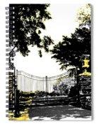 Beacon Rock Gate Newport Ri Spiral Notebook