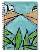 Beak To Beak On A Branch Spiral Notebook