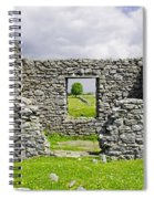 Beam Engine House Remains At Magpie Mine - Sheldon Spiral Notebook