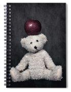 Bear And Apple Spiral Notebook