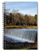 Bear Creek Lake Waterfall Spiral Notebook