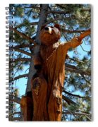 Bear Look Out Spiral Notebook