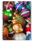 Bear Ornament Spiral Notebook