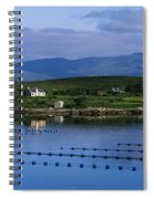 Beara, Co Cork, Ireland Mussel Farm Spiral Notebook