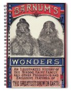Bearded Family, 1887 Spiral Notebook