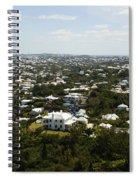 Beautiful Bermuda  Spiral Notebook