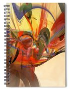 Beautiful Chaos Spiral Notebook