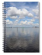 Beautiful Day In Tampa Spiral Notebook