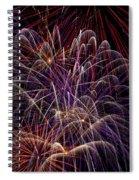 Beautiful Fireworks Spiral Notebook
