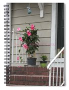 Beautiful Floral Entrance Spiral Notebook