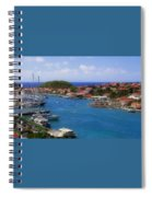 Beautiful Gustavia Spiral Notebook