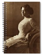 Beautiful Lady In 1880 Spiral Notebook