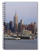 Beautiful Light On New York City Spiral Notebook