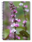 Beautiful Sweet Pea Spiral Notebook