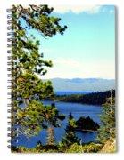 Beautiful Tahoe Spiral Notebook