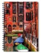 Beautiful Venice Spiral Notebook